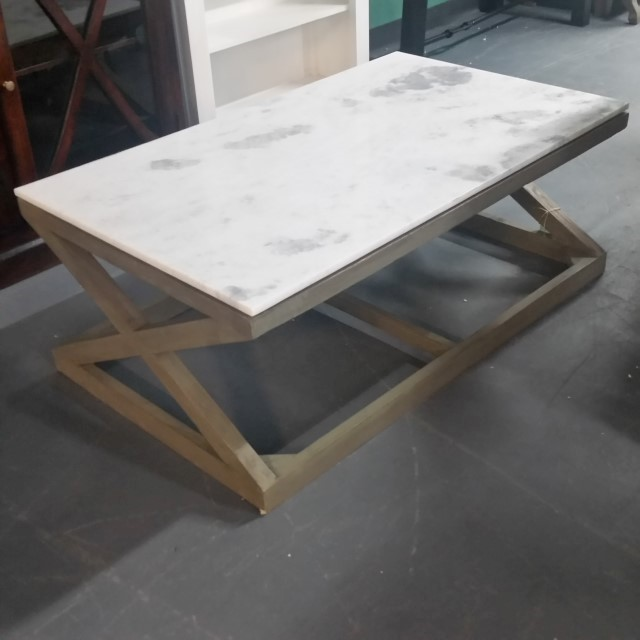 Marble Coffee Table Houston: Marble Top Coffee Table