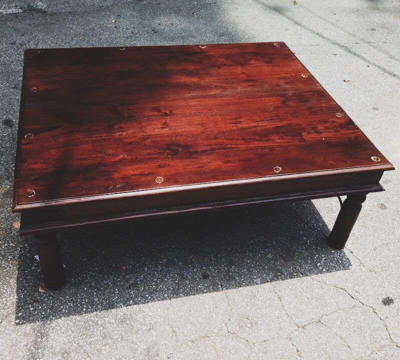 Small Traditional Indian Coffee Table