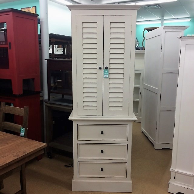 Kitchen Cabinets Indianapolis: Nantucket Tall Shutter Cabinet