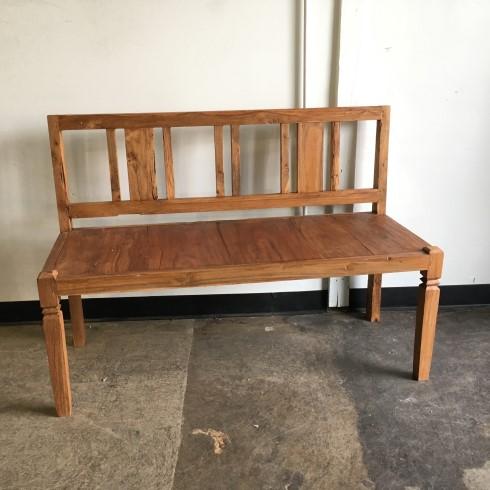 teak wood bench front porch teak wood bench nadeau indianapolis