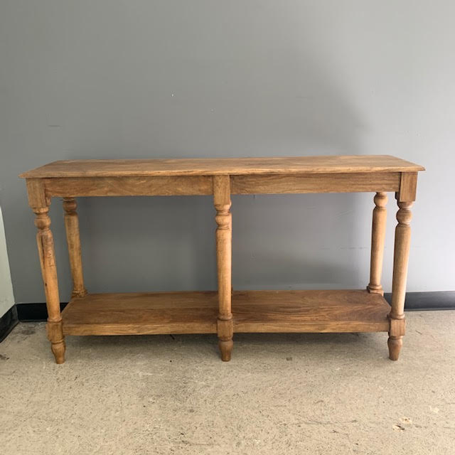 six leg console table  nadeau indianapolis