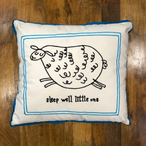 Sleep Well Little One Pillow Nadeau Indianapolis