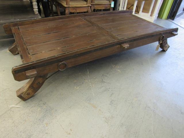 Oxcart Coffee Table