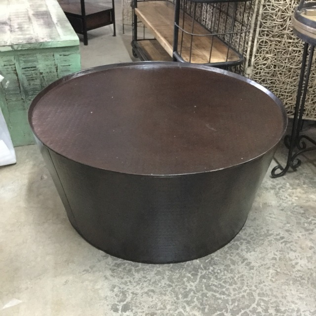 Iron Drum Coffee Table