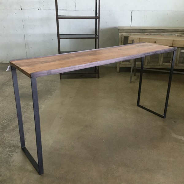 Industrial Narrow Bar Table