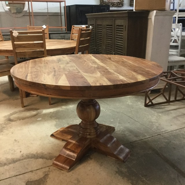 48 Round Dining Table Nadeau Miami