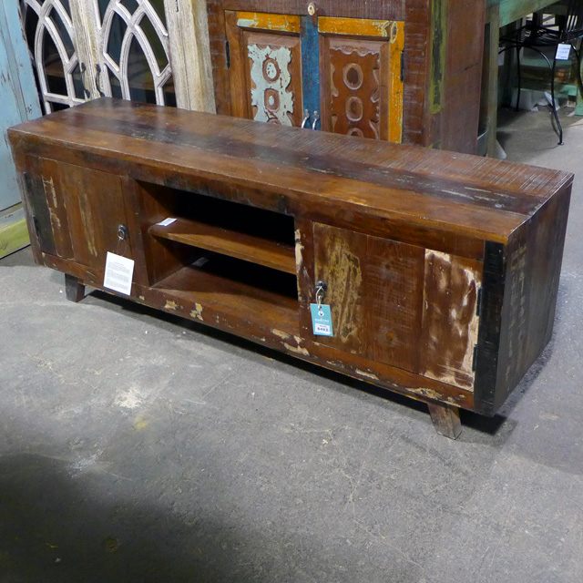 8d9e7b0700cf Reclaimed Wood Tv Stand - Nadeau Chicago