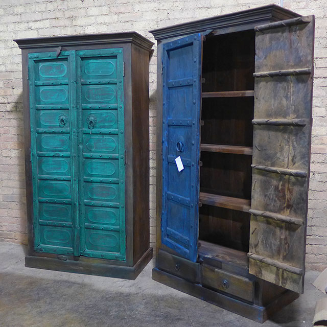 Old Door Cabinet Nadeau Chicago