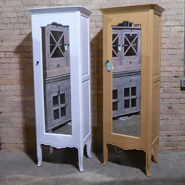 Single Door Mirrored Cabinet - Nadeau Chicago