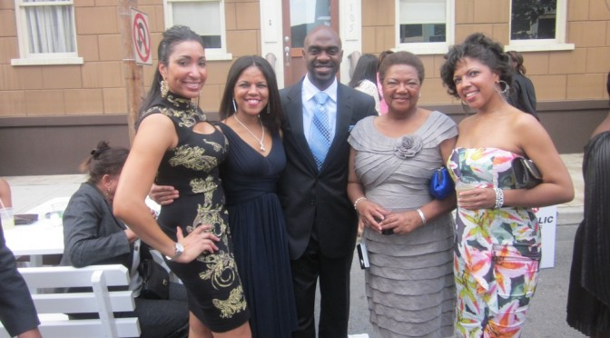 Family with Michael Blake