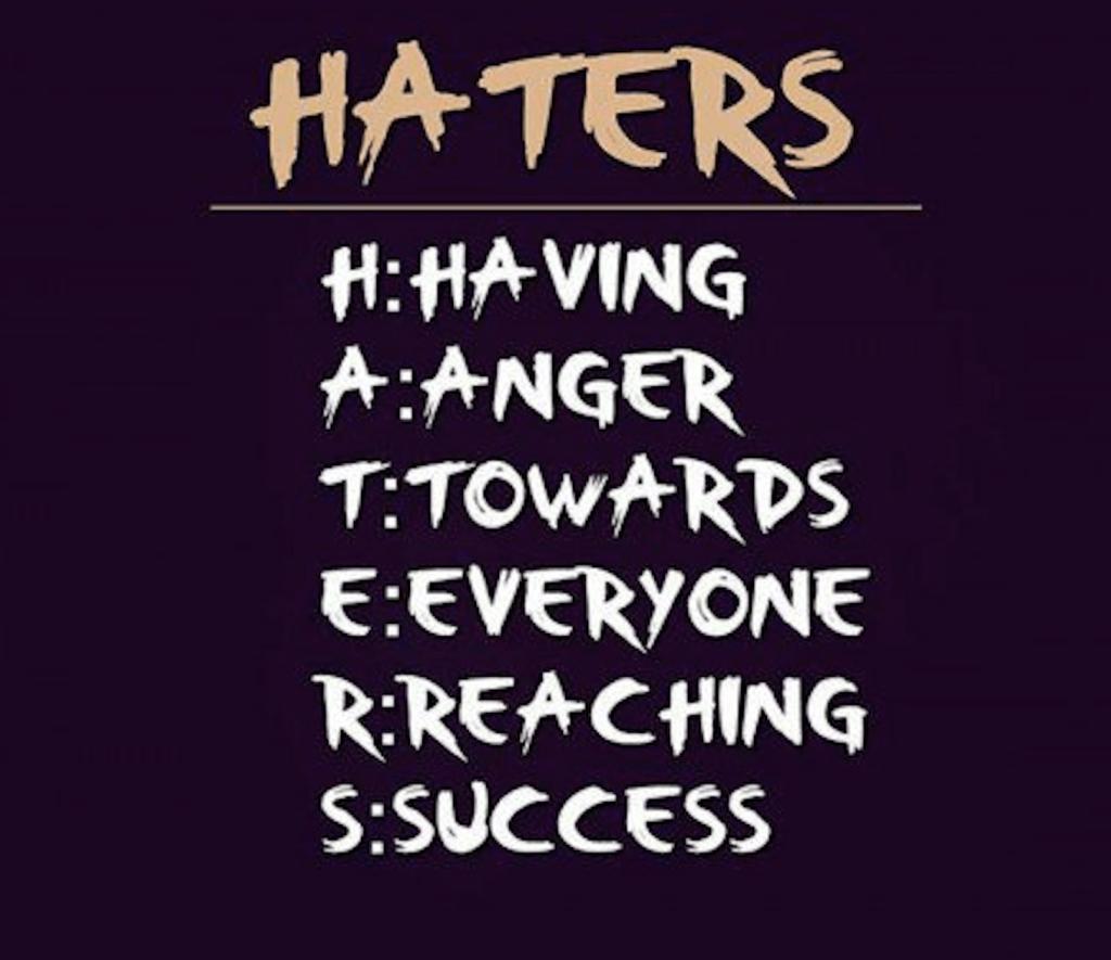 Don't Mind the Haters – Ramona Houston