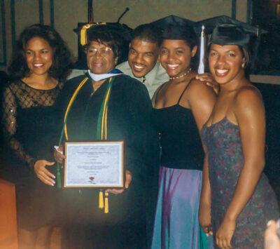 Izora Jones and Family