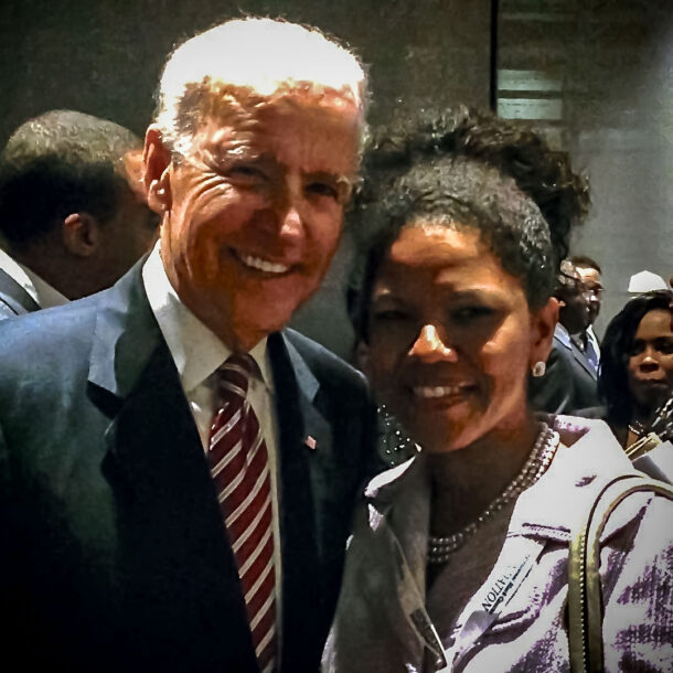 Joe Biden, Dr Ramona Houston