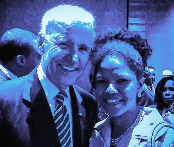 Joe Biden, Dr Ramona Houston