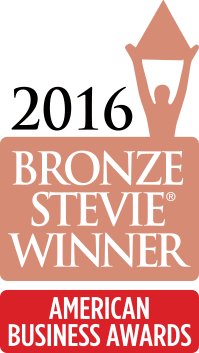 2016 Bronze Stevie Award