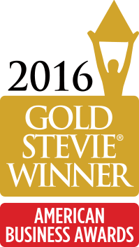 2016 Gold Stevie Award