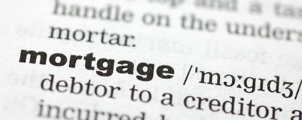 mortgage term in the dictionary