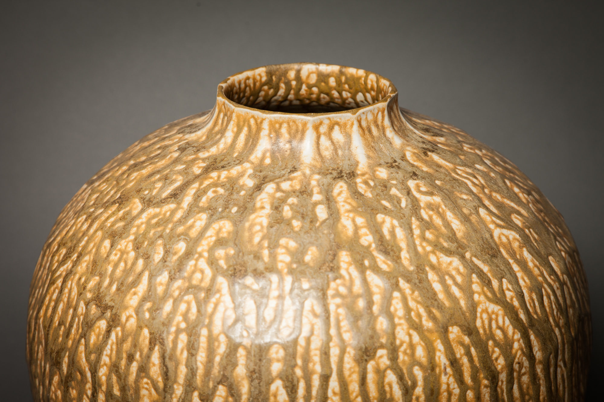 Contemporary 1950 South East Asian Vase