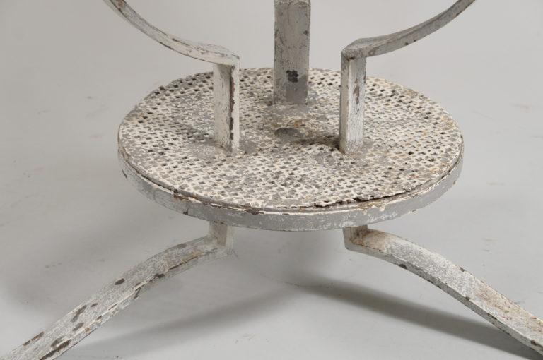 Dansen Style Painted Round Iron Table