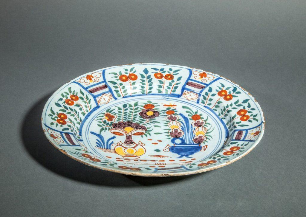 Delft 18th Century plate