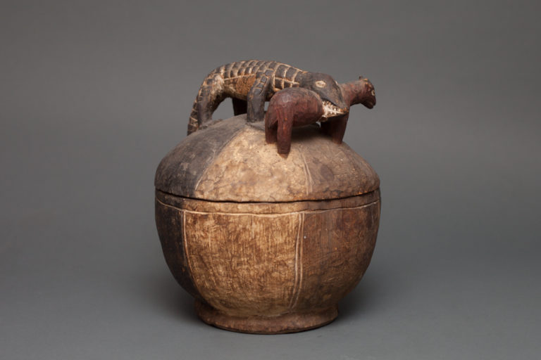 Early 20th Century African Storage Container