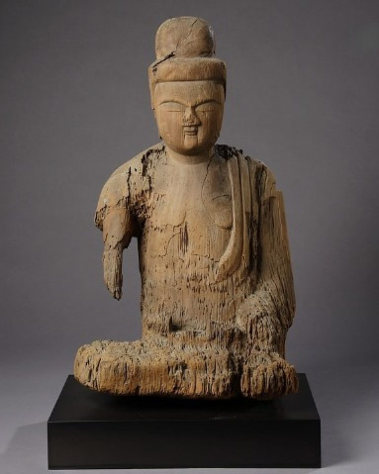 Early Kamakura Period Japanese Shinzo Sculpture