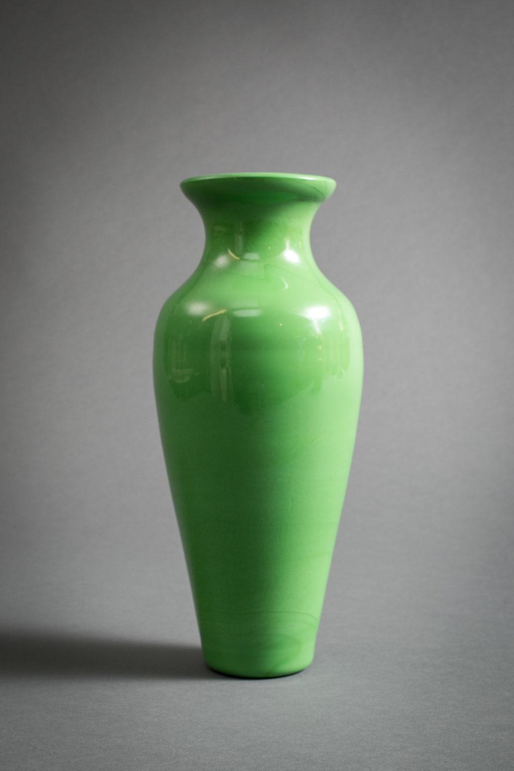Elegant Peking Glass Vase