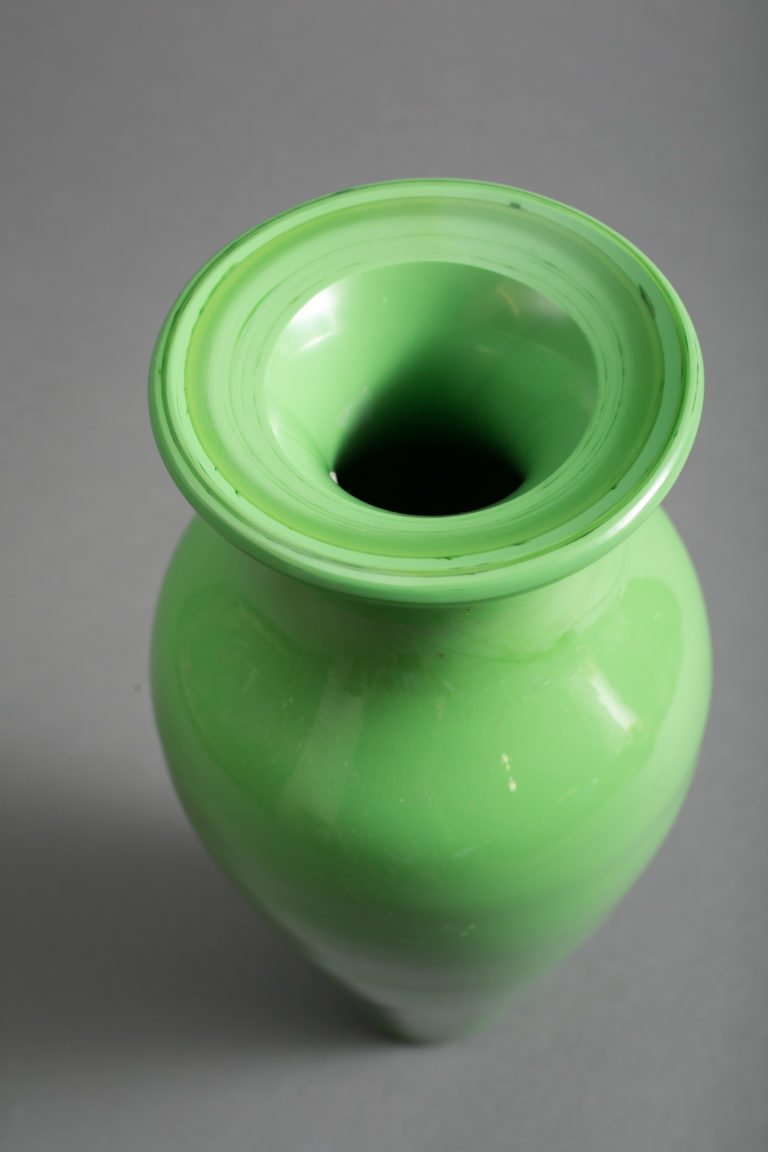 Elegant Peking Glass Vase