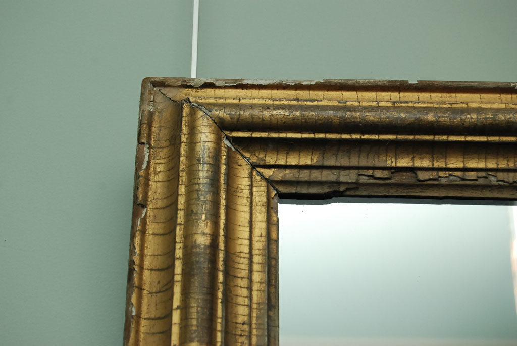 French 19th Century Gilt Wood Mirror