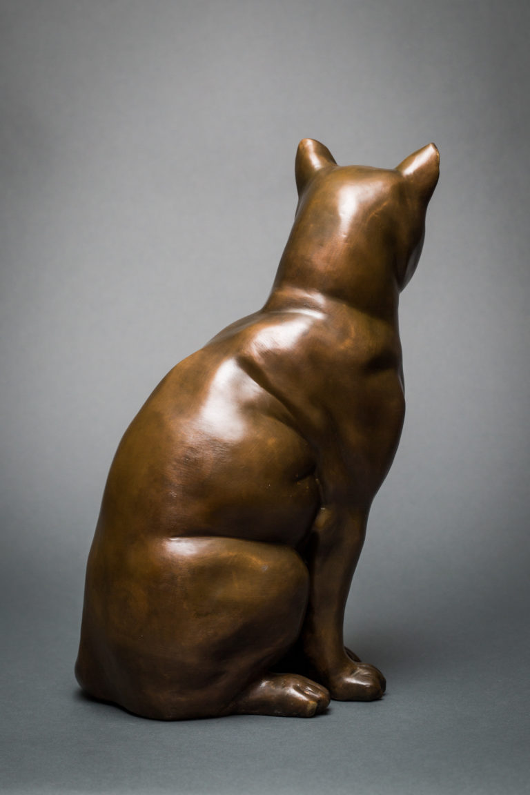 French Bronze Cat