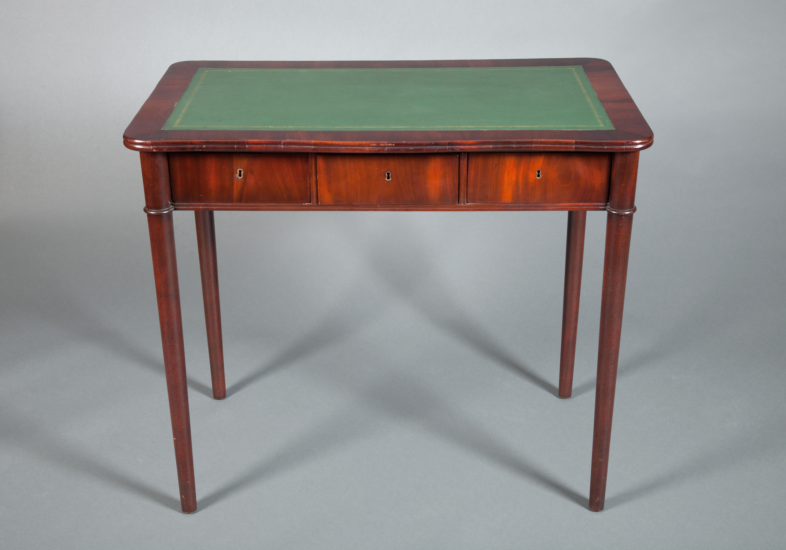 Small French Mahogany Desk
