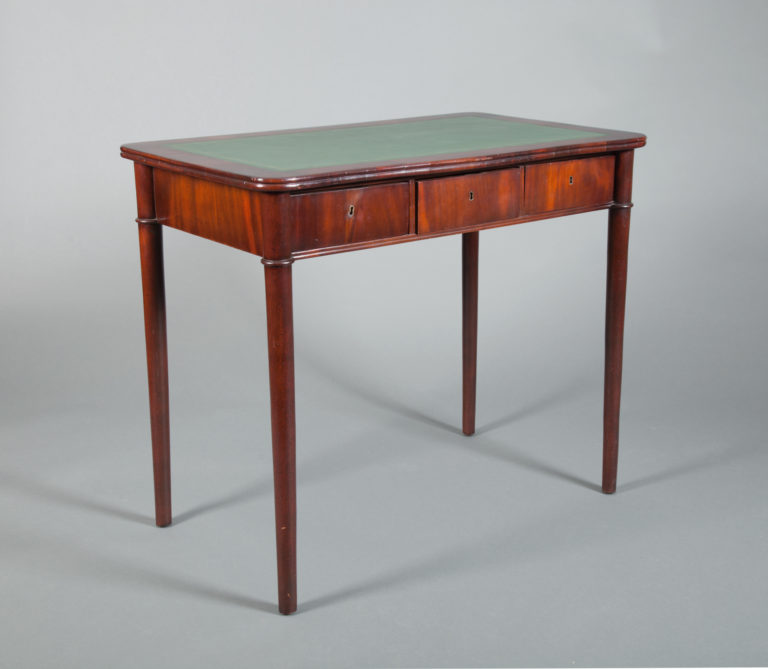 French Mahogany Small Desk