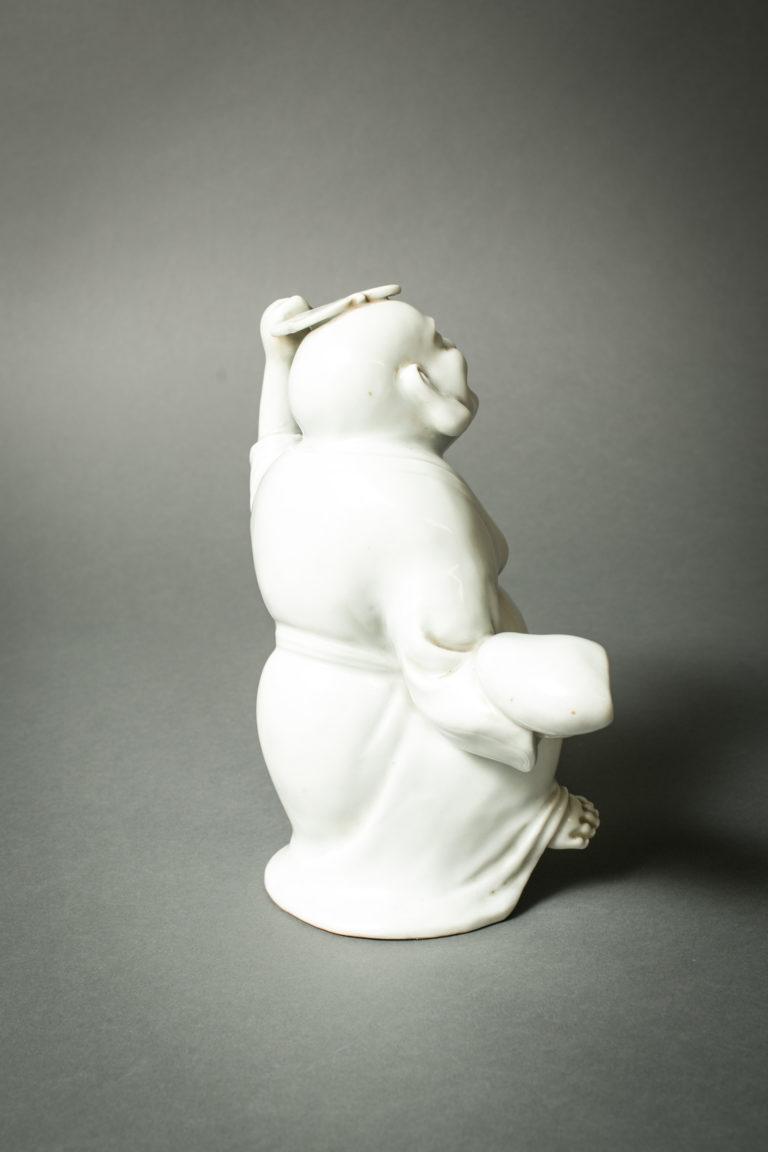Hiradoware White Porcelain Hoti Figure
