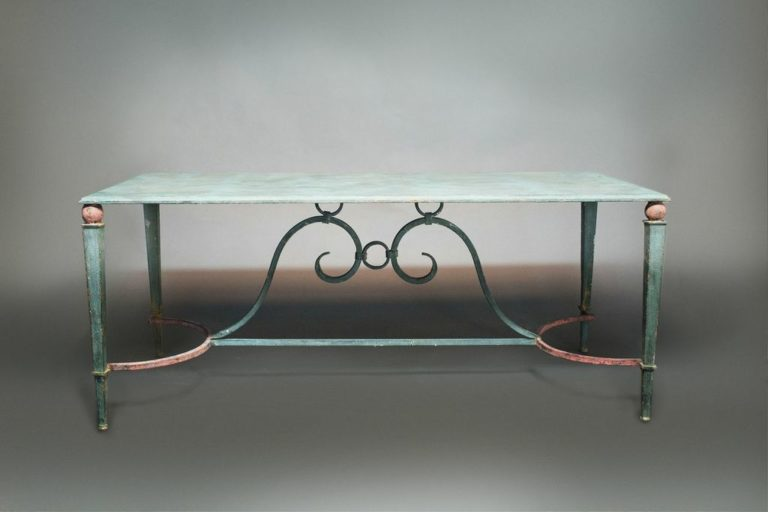 Italian 1940s Bronze Table