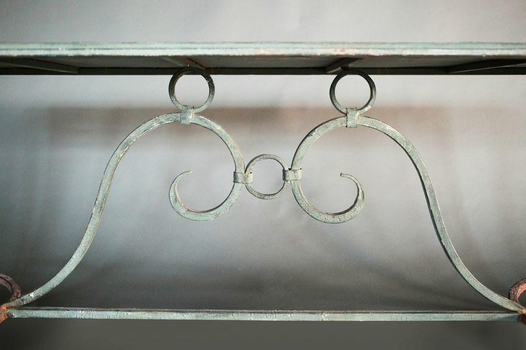 Italian 1940s Bronze Table