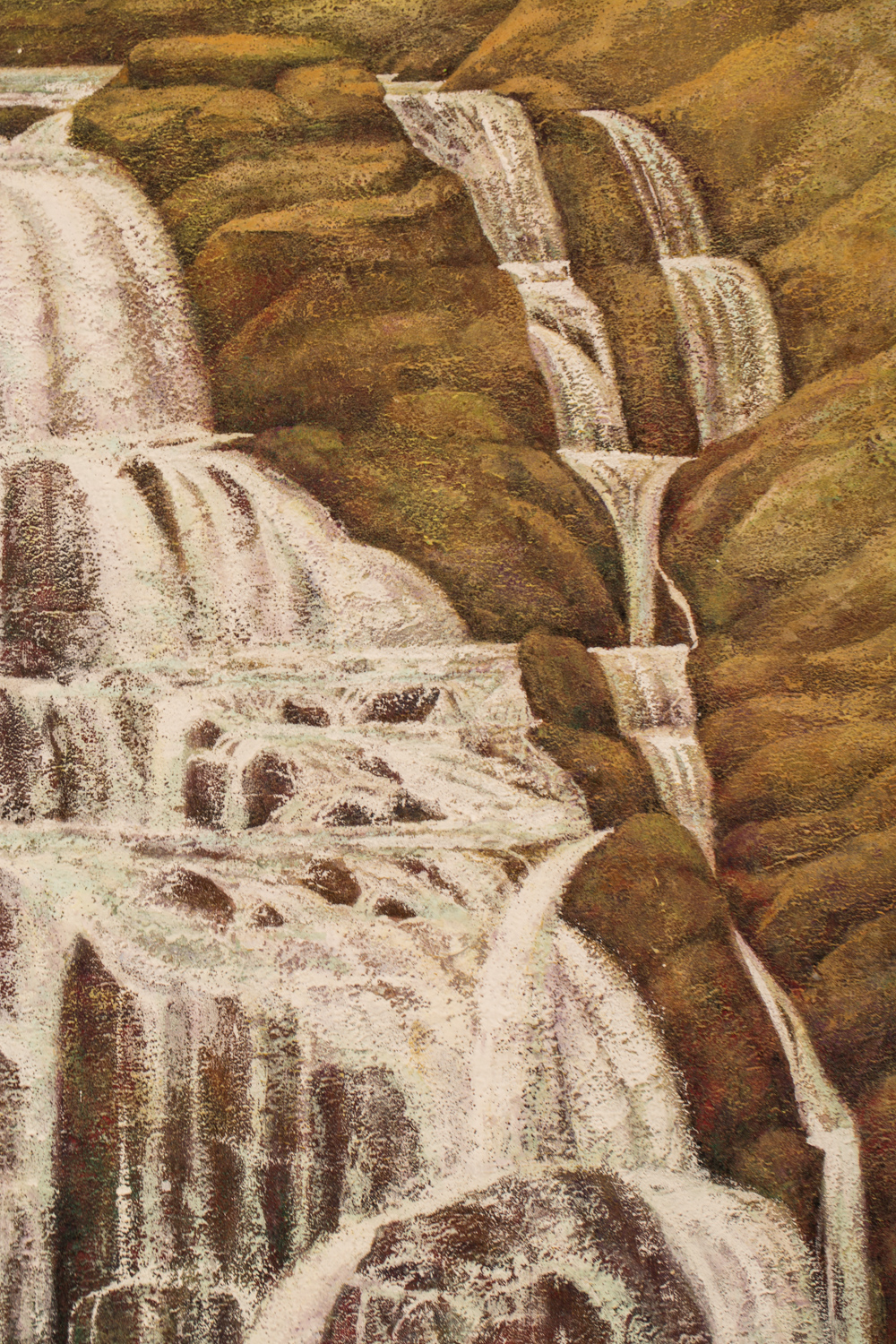 Japanese Painting: Taki (Waterfall)