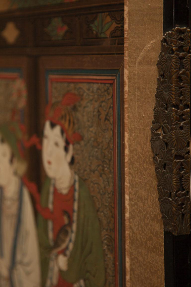 Japanese Six Panel Screen: Karako (Chinese Children)