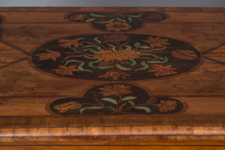 18th Century Dutch Desk with Inlay