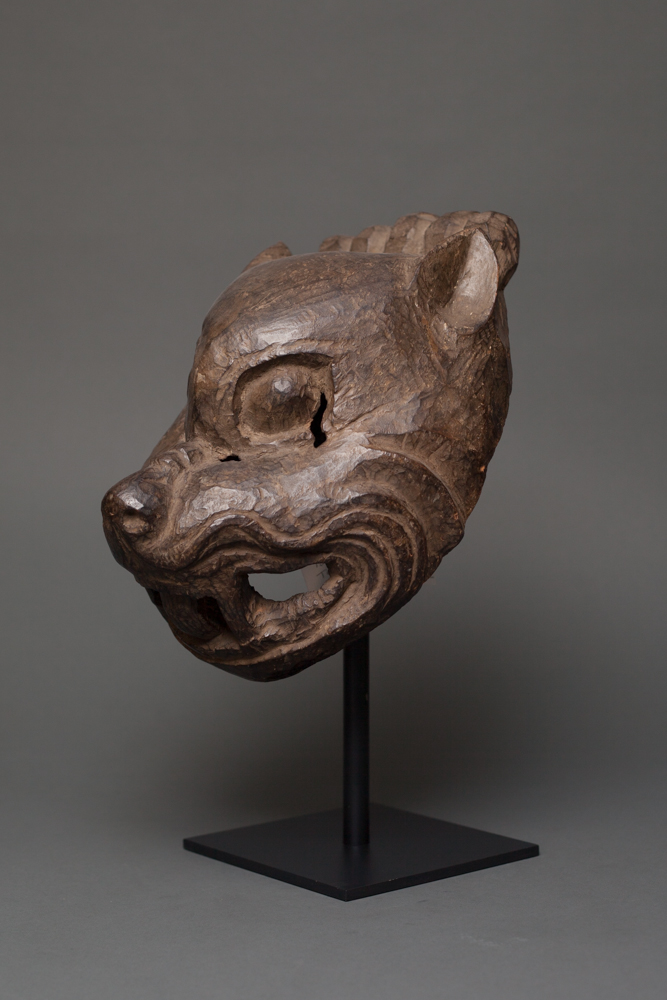 18th Century Tibetan Ritual Mask of a Bear