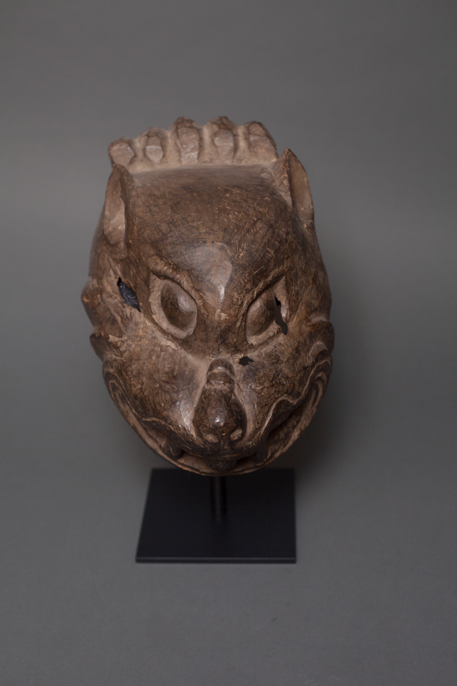 18th Century Tibetan Ritual Mask of a Bear