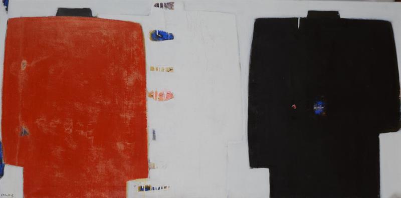 Three Jackets Painting