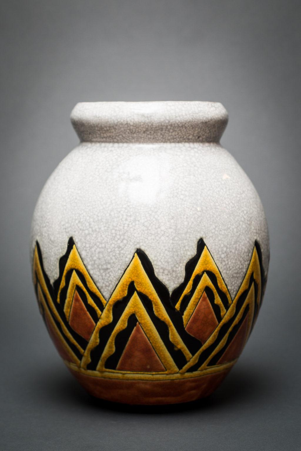 Abstract Ceramic Vase