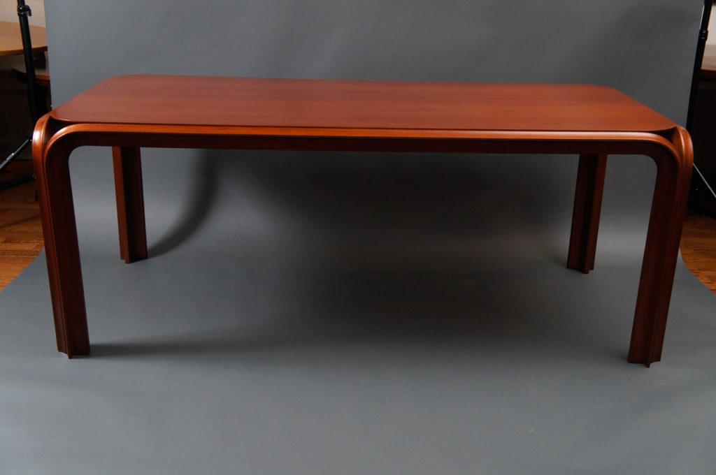 American 1930s Mahogany Dining Table