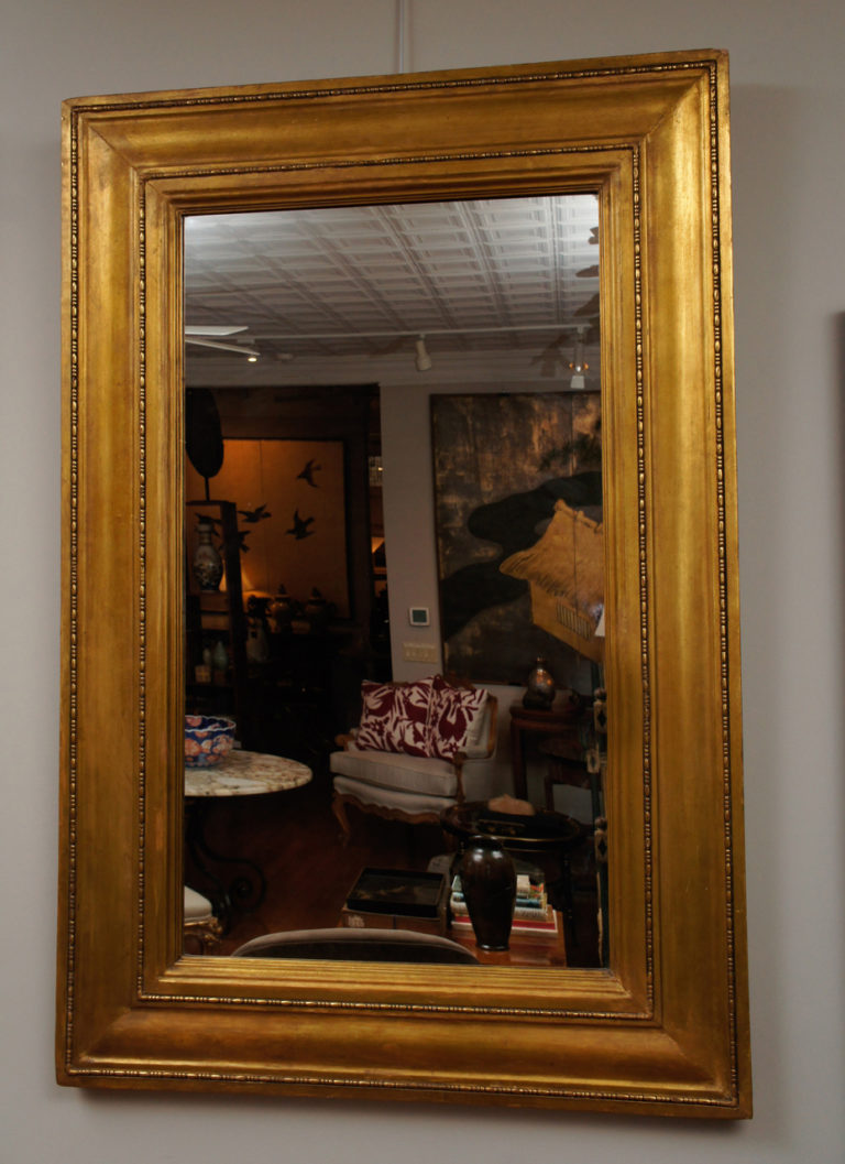 American gilt mirror frame In the manner of Stanford White and made by William LeBrocq.