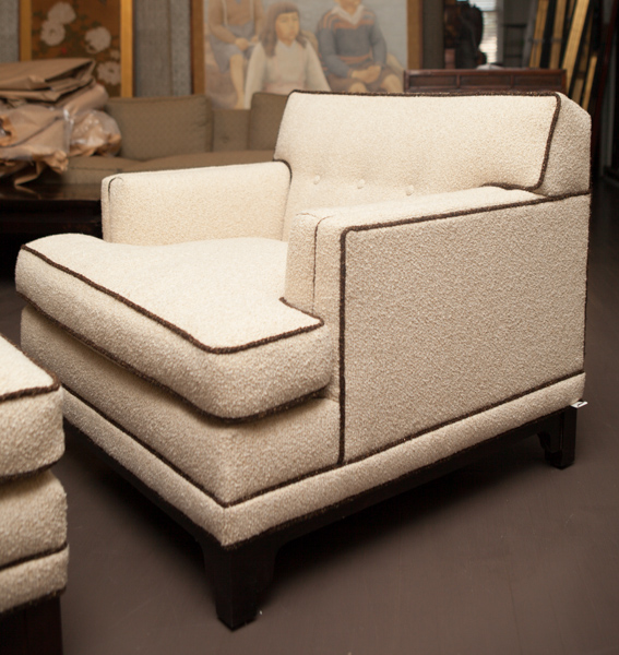 American Lounge Chairwith Ottoman