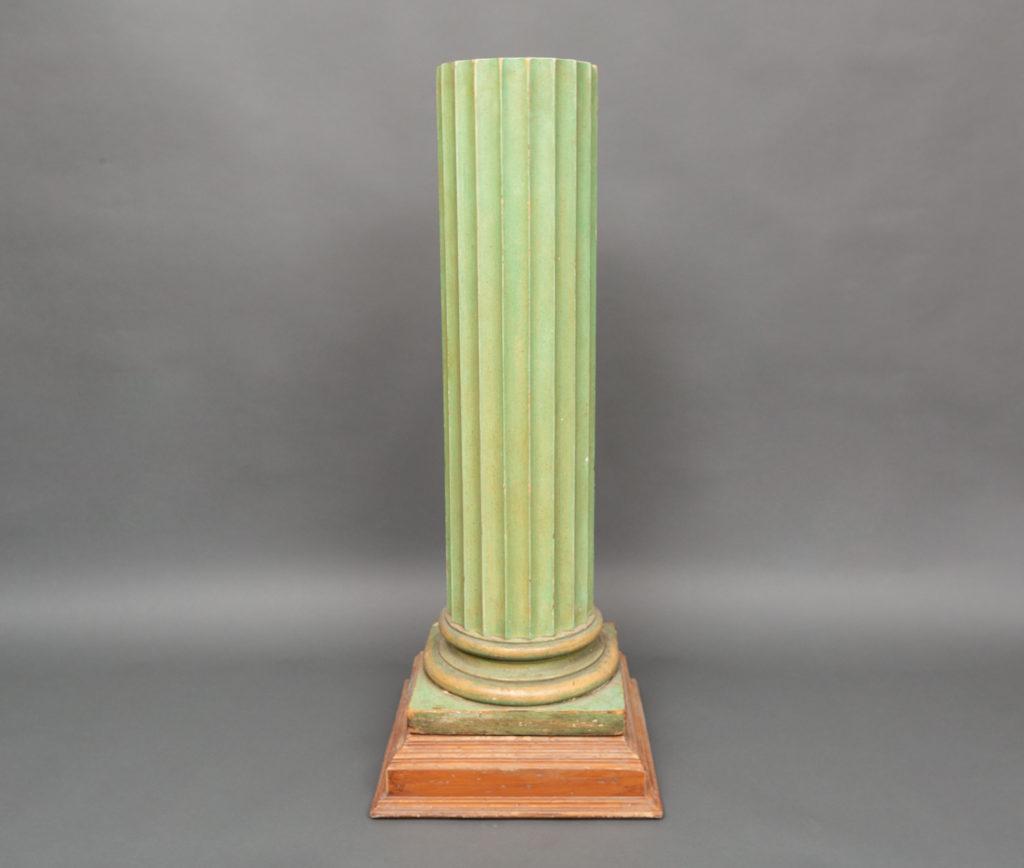American Painted Pedestal