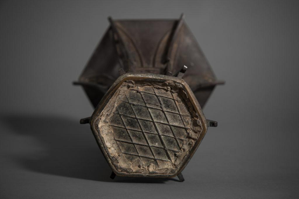 Archaic Design Bronze Vase