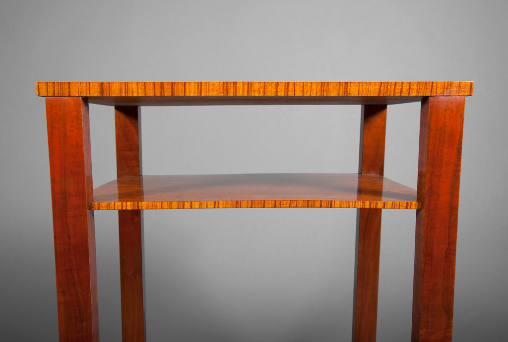 Art Deco Walnut Table