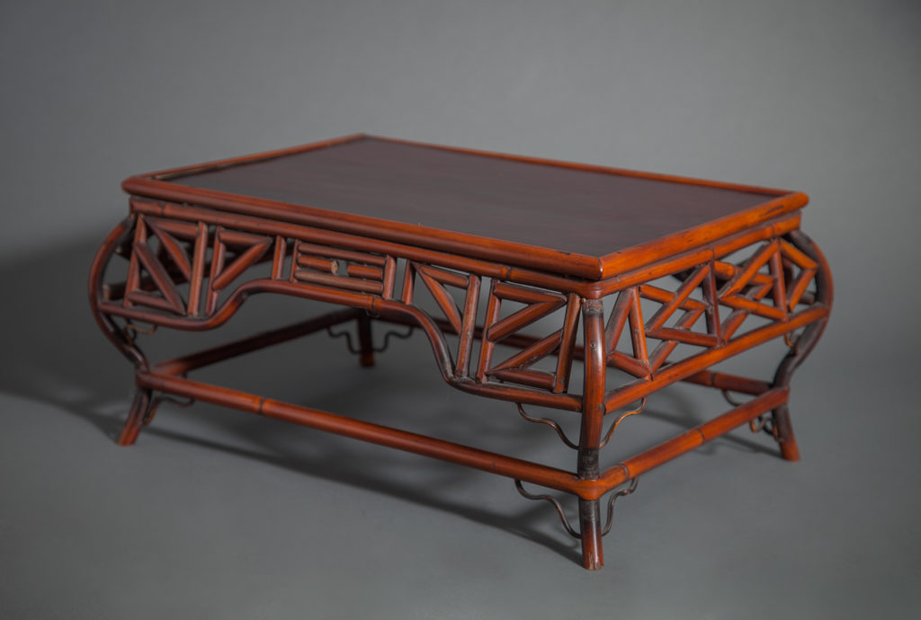 Japanese Bamboo Table