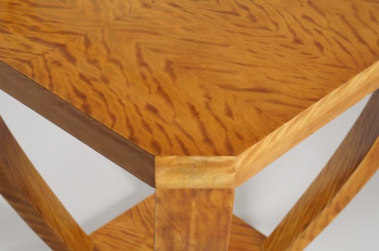 Belgian Lemon Wood Side Table